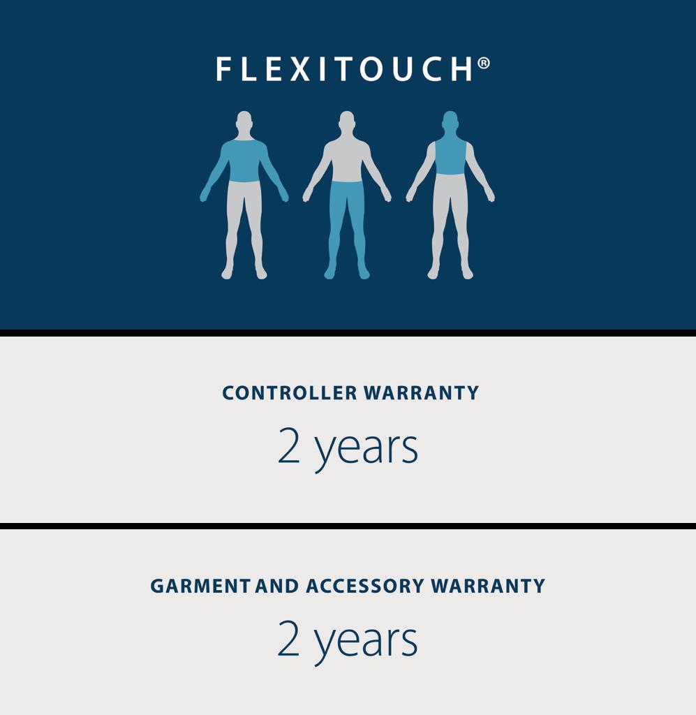 flexitouch warranty image